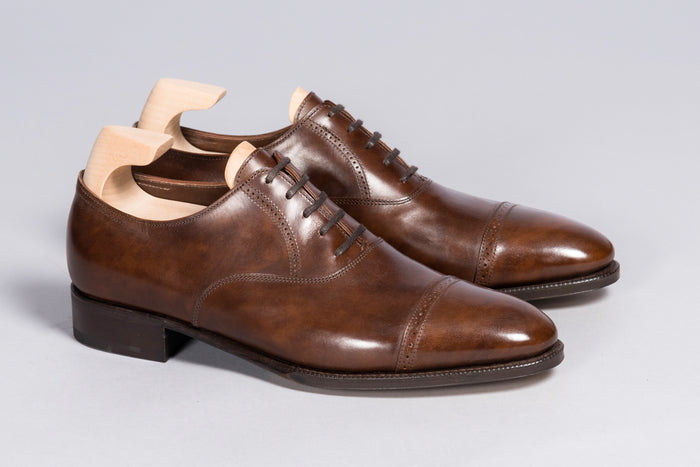 John Lobb Prestige Philip II in Parisian Brown Museum Calf