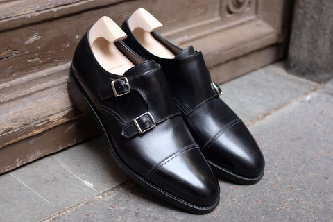 John Lobb William in Black - Stock Service