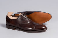 John Lobb City II Dark Brown Museum Calf