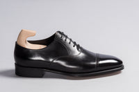 John Lobb Prestige Philip II Black Oxford Calf - Stock Service