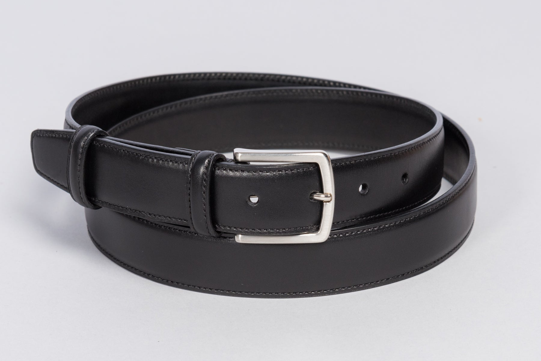 Löf & Tung Belt Black Calf
