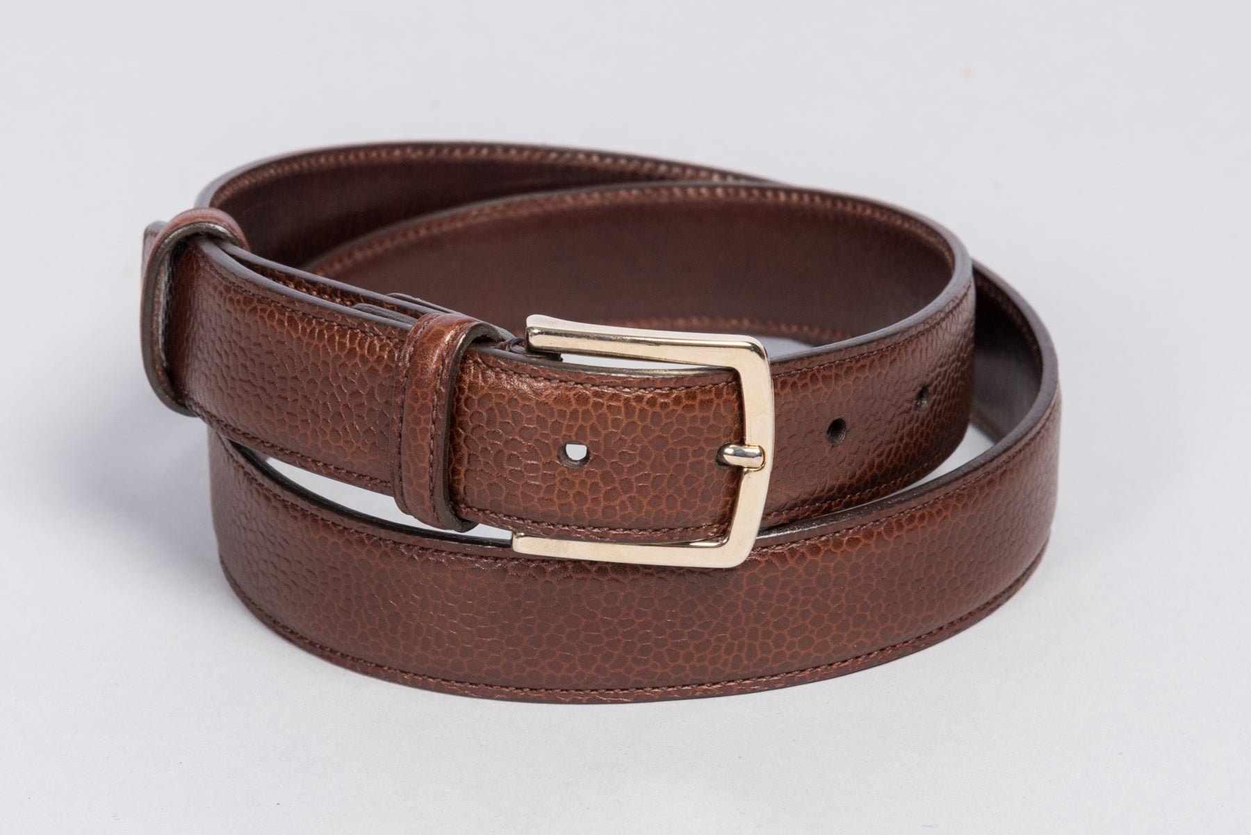 Löf & Tung Belt Mahogany Country Calf