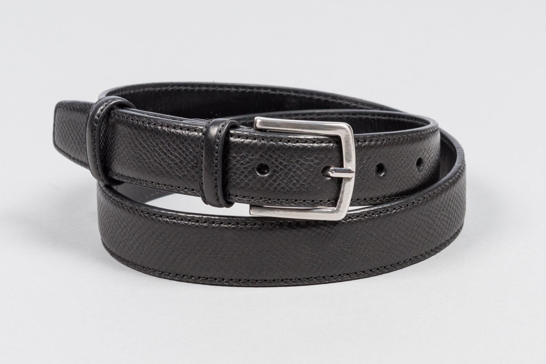 Löf & Tung Belt Black Utah Calf