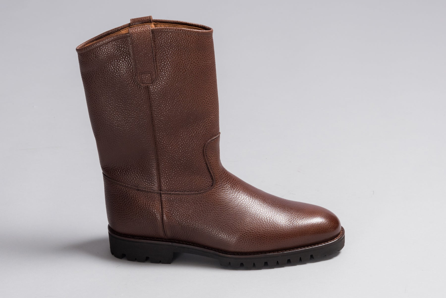 Löf & Tung Champlain Brown Country Calf (Shearling Lined)