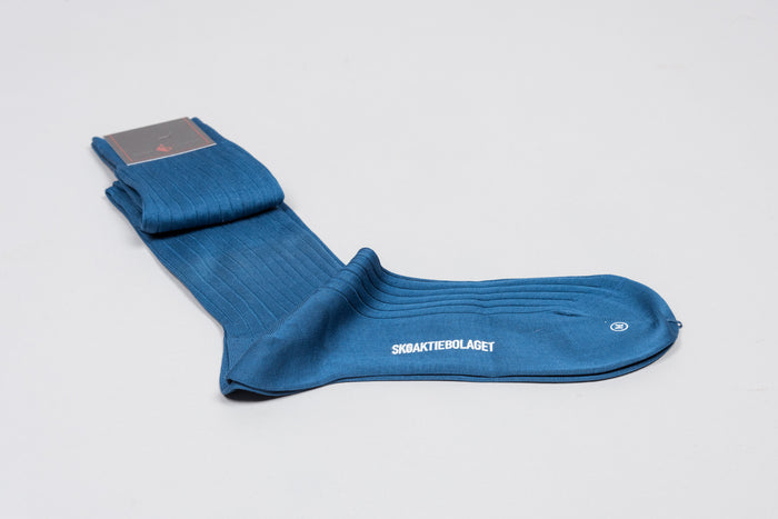Sozzi Cotton Socks - Blue