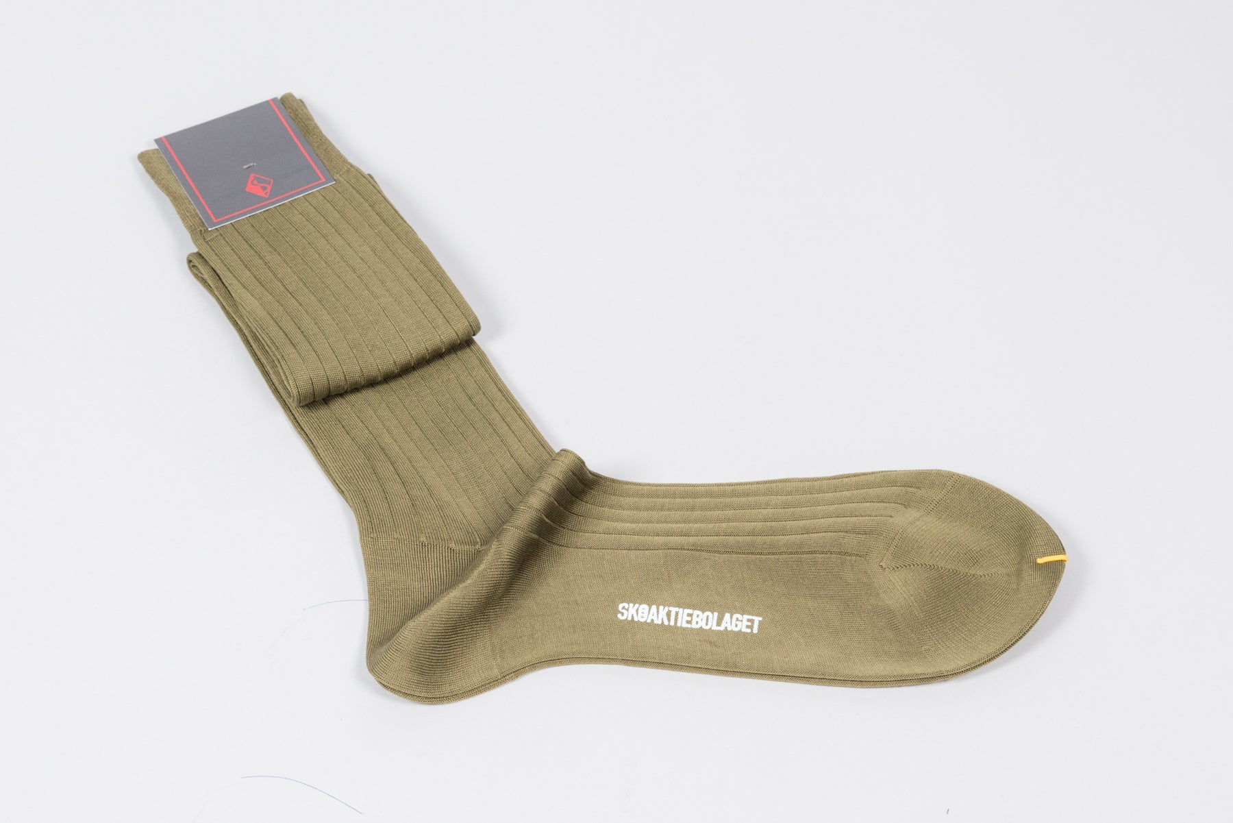 Sozzi Cotton Socks - Khaki Green