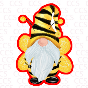 Bee Gnome Cookie Cutter