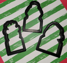 Load image into Gallery viewer, Christmas Stick Cutters Designed by Marlyn of Montreal