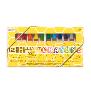 Brilliant Bee Crayons - Set of 12