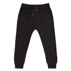 Miann & Co Kids - Knit Pants - Charcoal