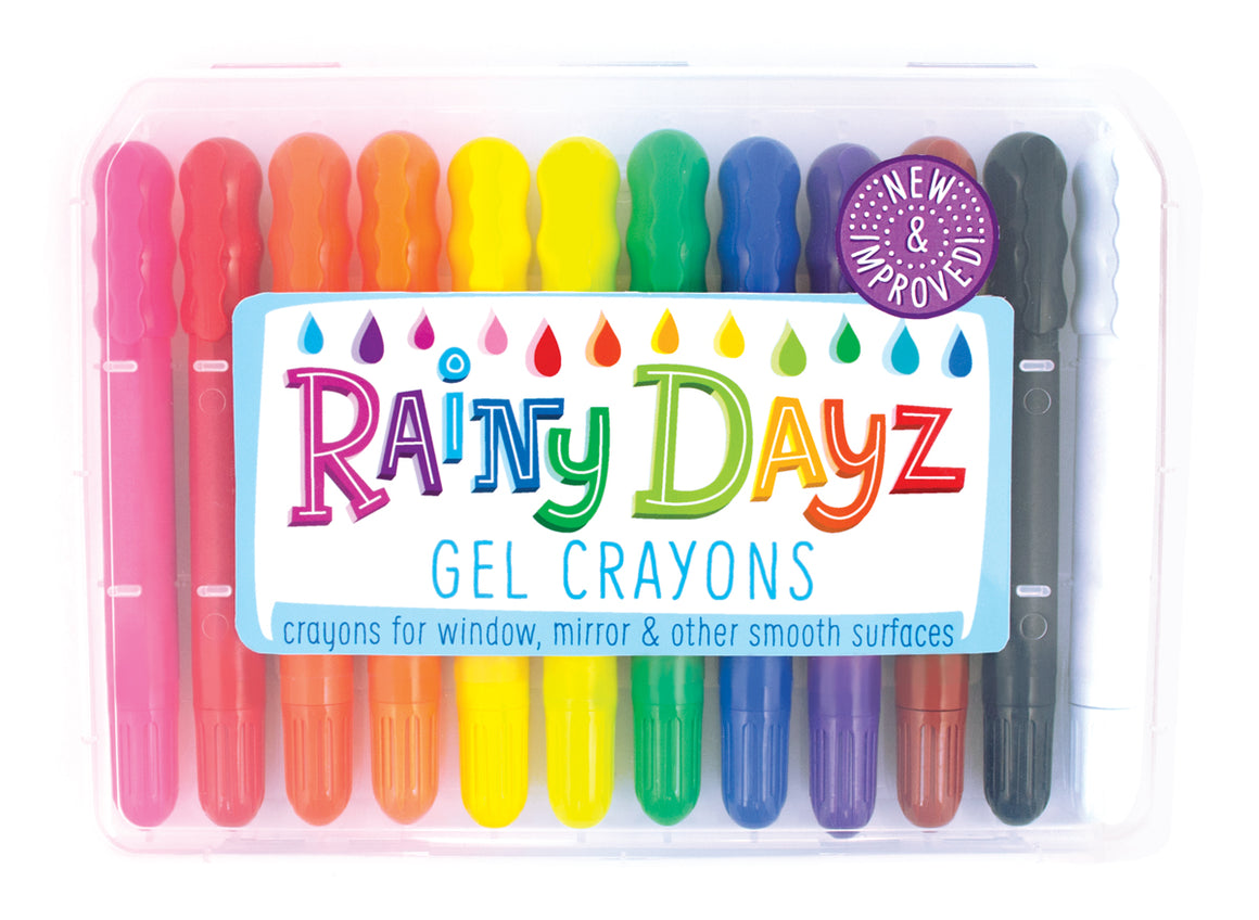 Rainy Dayz Gel Crayons - Set of 12pcs