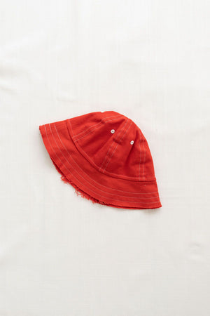 Bucket Hat - Brick Red