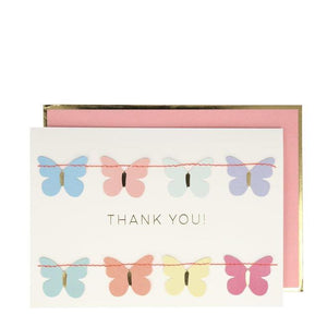 Meri Meri Card - Butterfly Garland