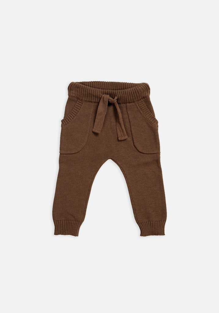 Miann & Co Baby - Knit Pants - Portebello