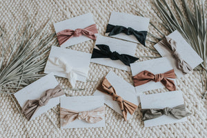 Jax & Lennon Knot Headbands