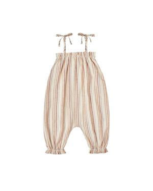 Multi Stripe Bubble Jumpsuit