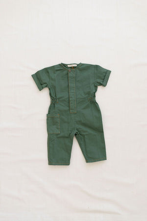 Painter Jumpsuit - Pea