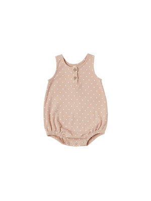 Sleeveless Bubble Onesie - Petal