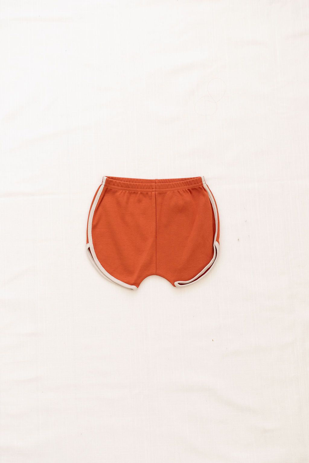Track Shorts - Red Rock/Oatmeal Trim