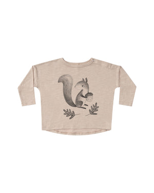 Squirrel Longsleeve Tee