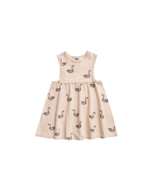 Layla Dress - Swans