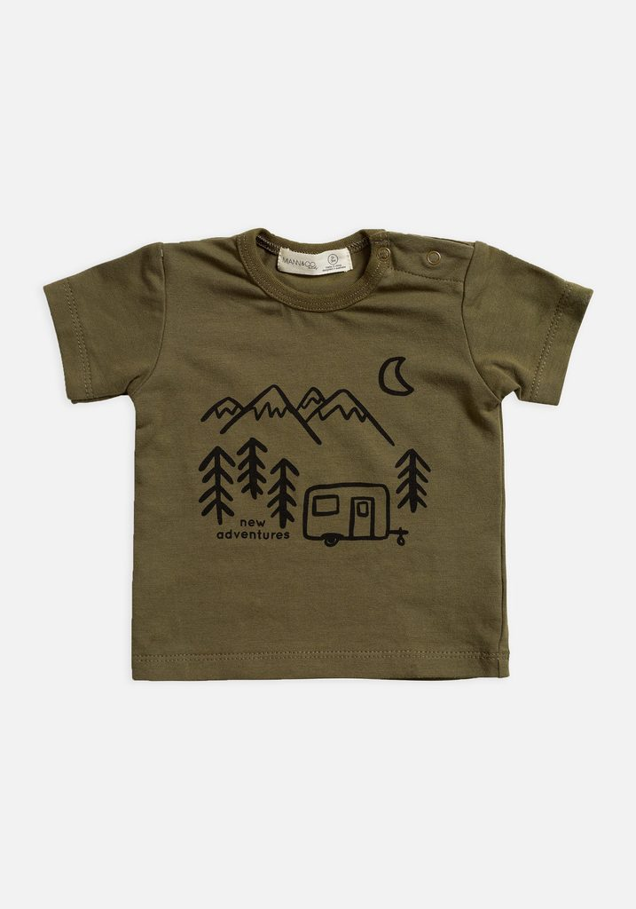 Miann & Co Baby - T-Shirt - Portebello