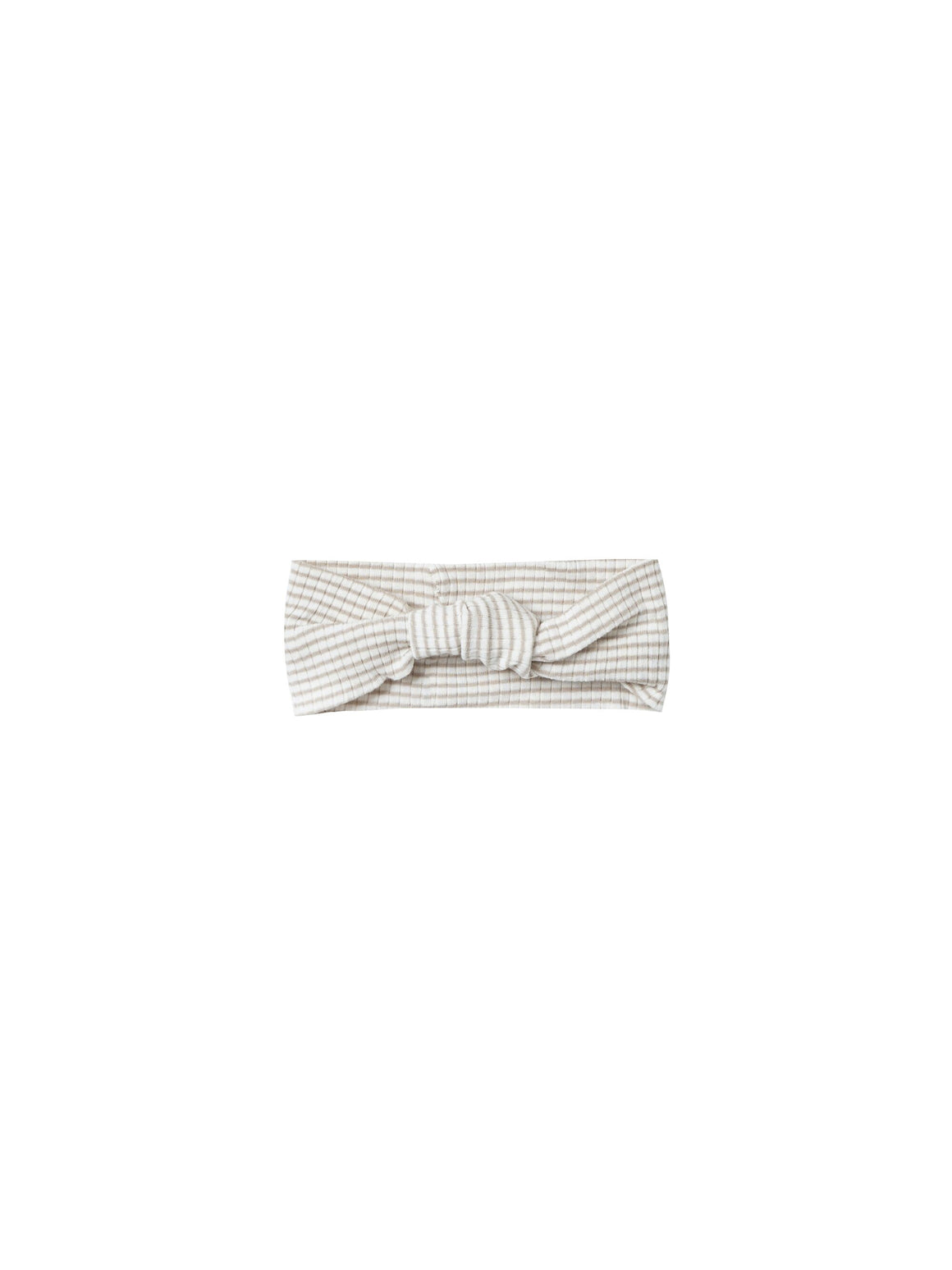 Baby Turban - Fog Stripe