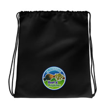Load image into Gallery viewer, Clarksville Shop Reef & Reptiles Drawstring bag