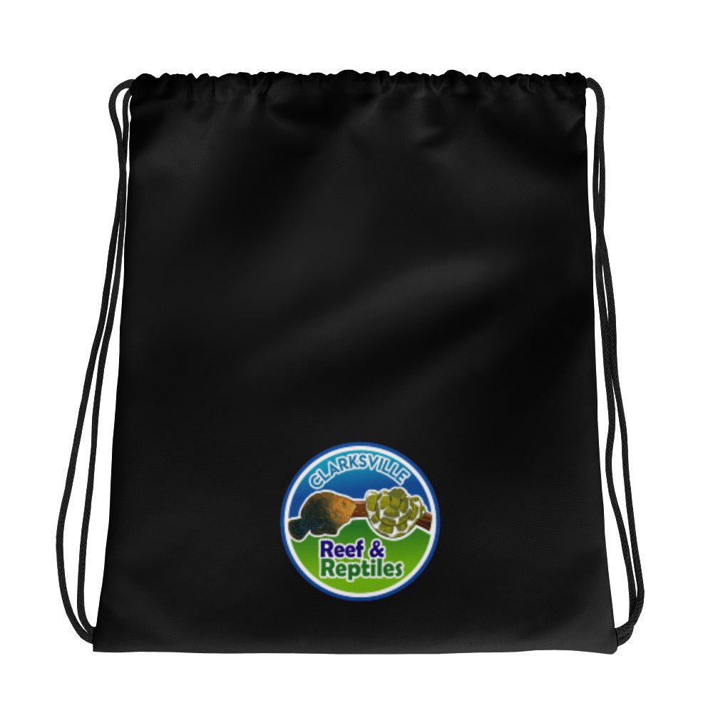 Clarksville Shop Reef & Reptiles Drawstring bag