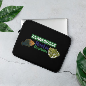Clarksville Shop Reef & Reptiles Laptop Sleeve