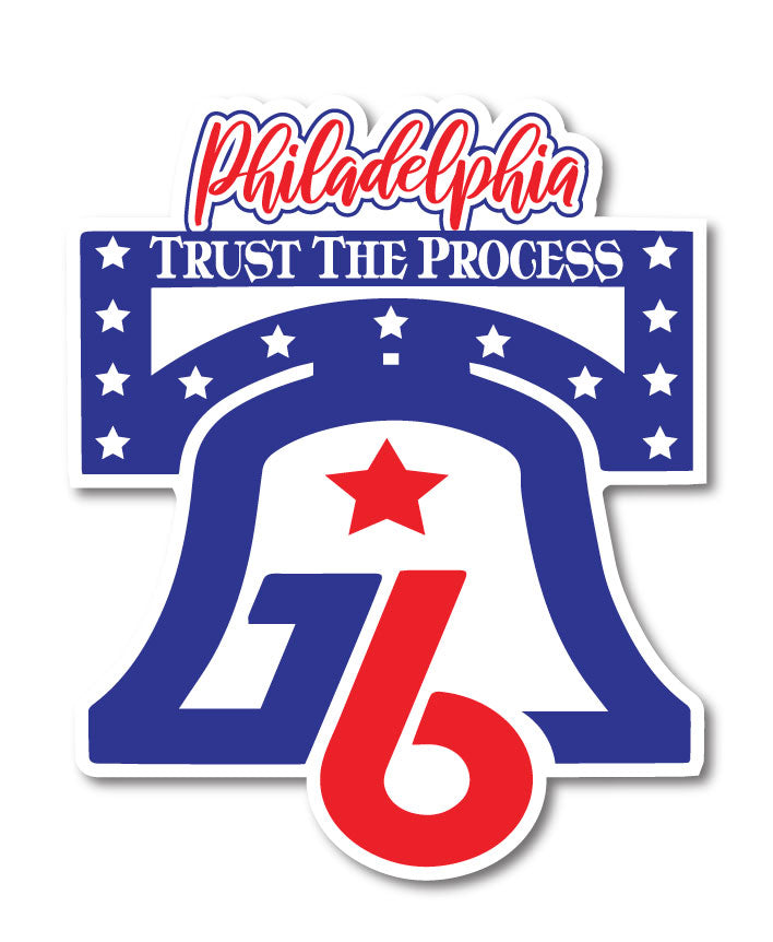 Philadelphia Trust The Process 76 Window Decal