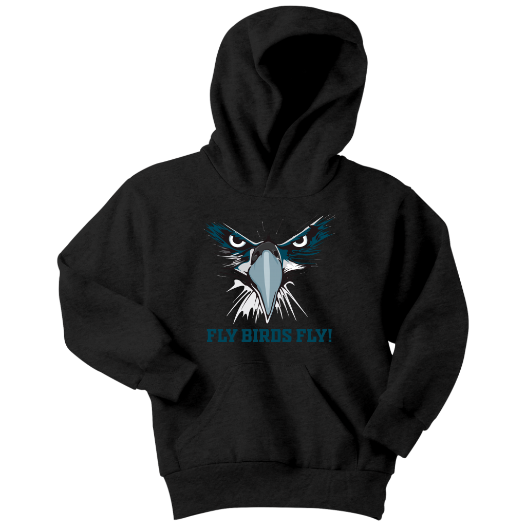 Fly Birds Fly Youth Hoodie