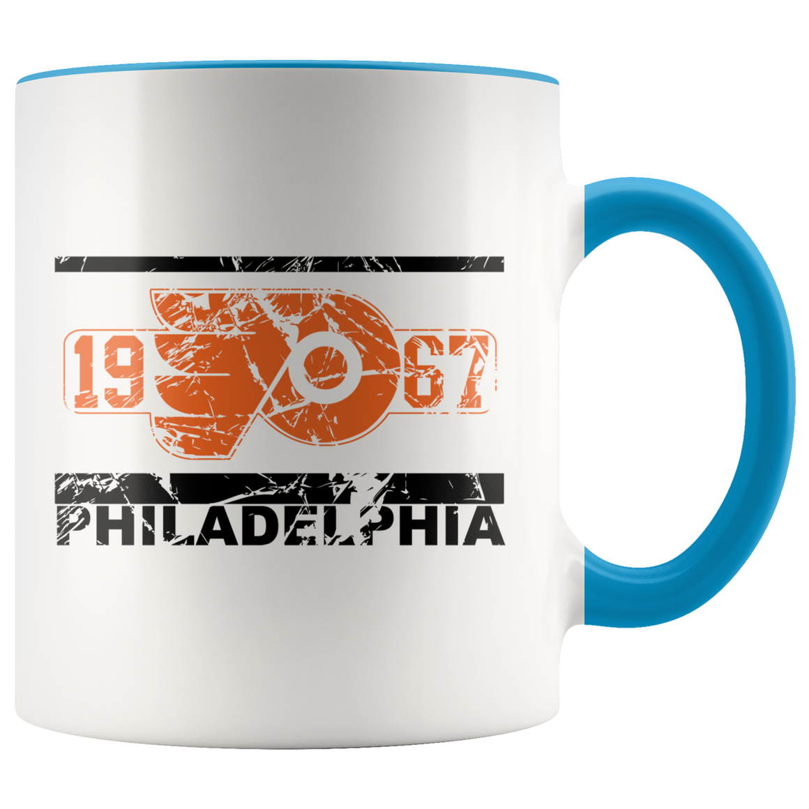 Philadelphia Hockey 11oz Accent Mug