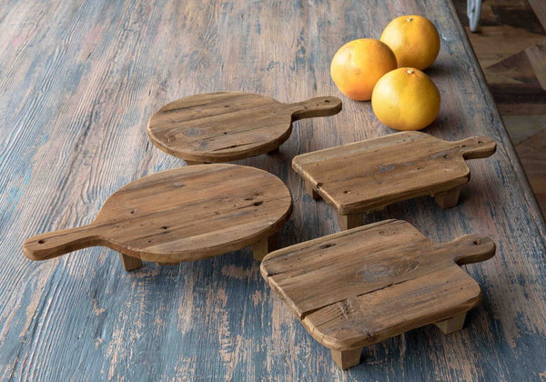 Wooden Cutting Board Risers, Set of 4 - Sixty Park Lane
