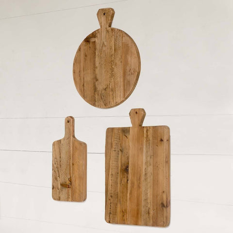 Old Pine Cutting Boards, Set of 3 - Sixty Park Lane