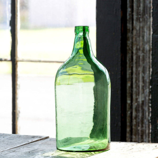 Recycled Glass Wine Bottle Vase, Small - Sixty Park Lane