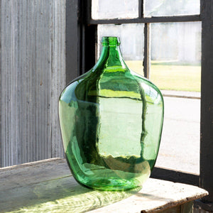 Recycled Glass Vineyard Vase, Large - Sixty Park Lane