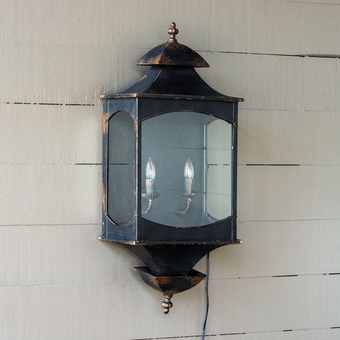 Porch Lantern Wall Sconce - Sixty Park Lane