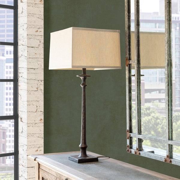 Black Smith's Lamp Table & Floor Lamps PHC
