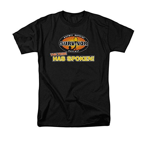 """The Tribe Has Spoken"" -- Survivor Adult T-Shirt"