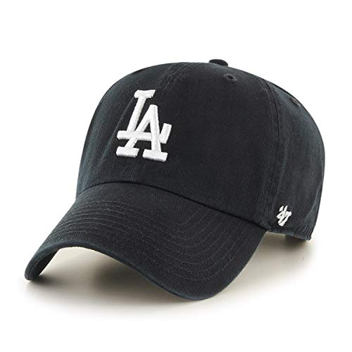 '47 Brand Los Angeles LA Dodgers Clean Up Hat Cap BlackWhite