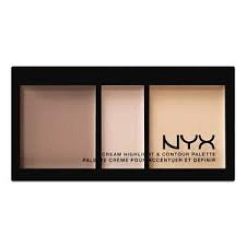 Nyx Cream Highlight And Contour Palette Kit