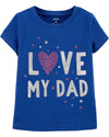 "Polera ""love my dad"""