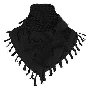 Black Head Wrap & Scarf