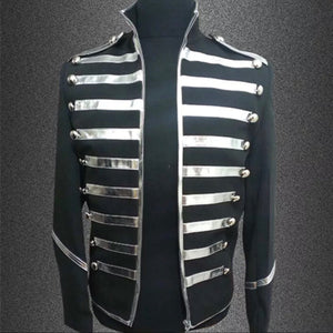 Men's Silver Lining Marching Band Jacket - The Carly Morgan