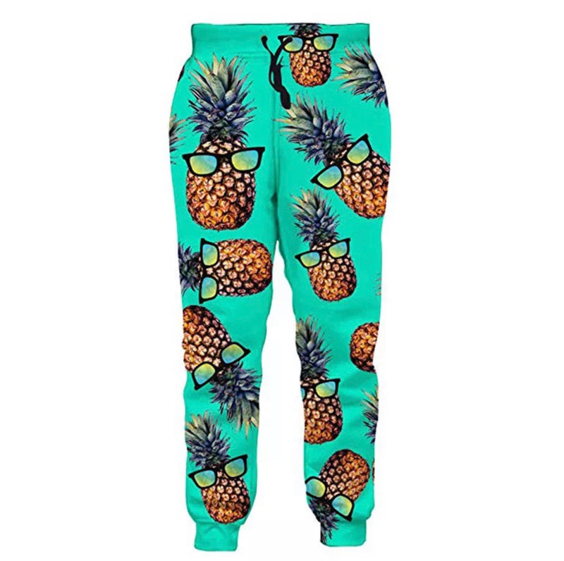 Pineapple Joggers - The Carly Morgan