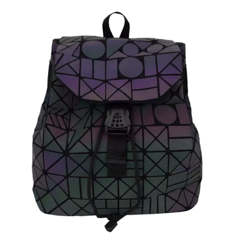 Luminous Geometric Shape Backpack - The Carly Morgan