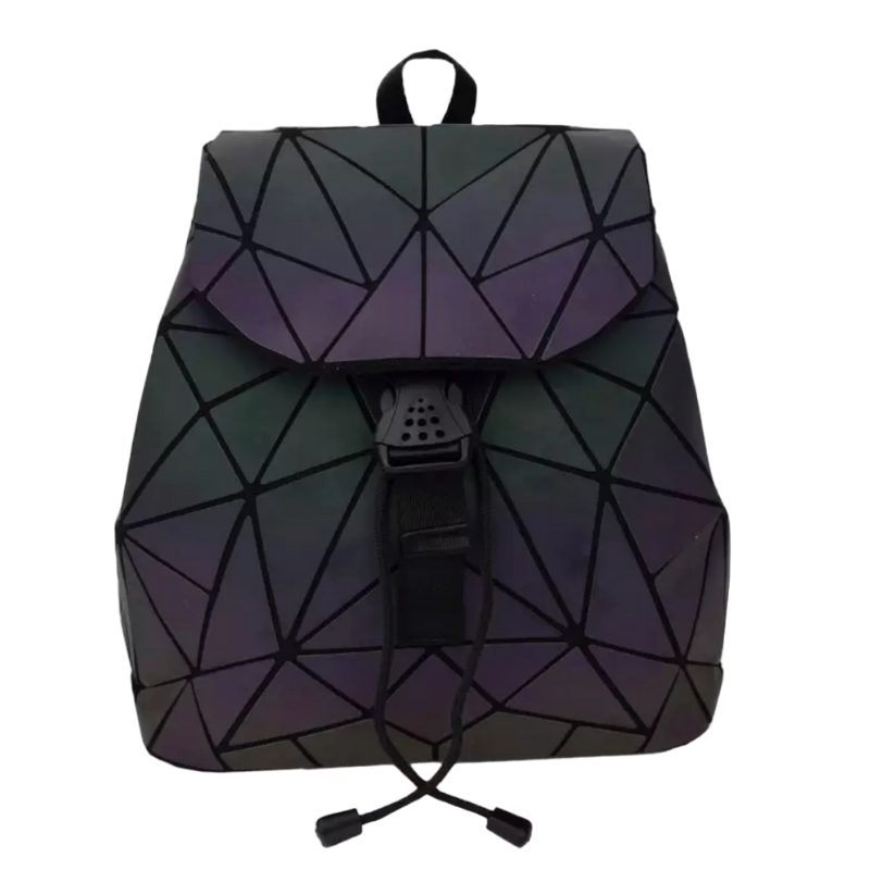 Luminous Triangle Geometric Backpack - The Carly Morgan