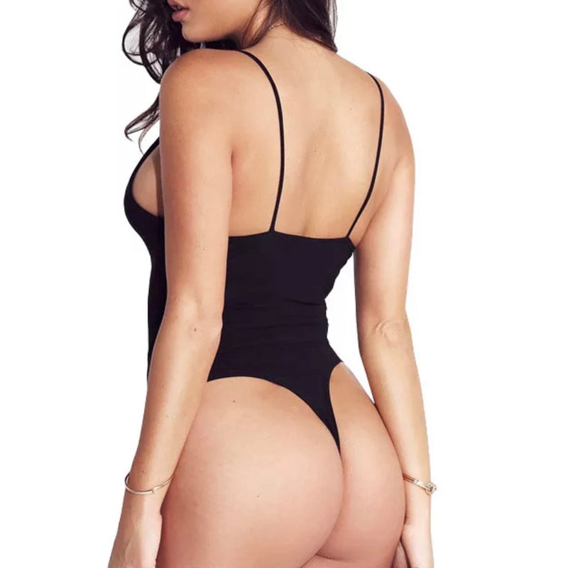 Sexy Plunge Bodysuit - The Carly Morgan