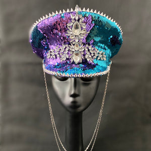 Two Face Captains Hat - The Carly Morgan